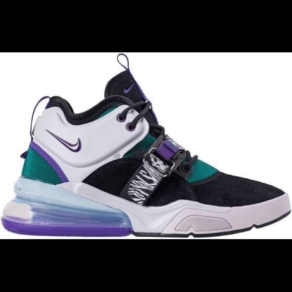 classico spedizione gratuita vendita professionale Nike Air Force 270 Basketball Shoe NWT